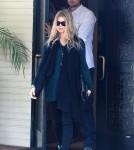 Pregnant Fergie & Josh Duhamel Attending Church