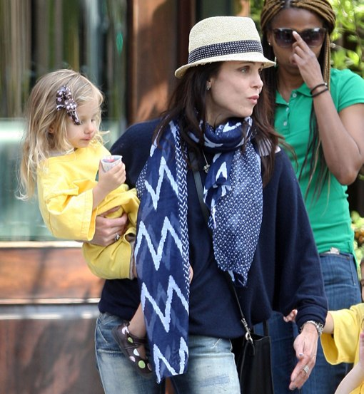 Bethenny Frankel & Jason Hoppy Out With Their Daughter Bryn In New York