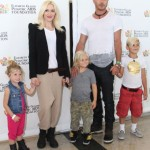 Gwen Stefani & Family Attend the Elizabeth Glaser Pediatric AIDS Foundation's A Time For Heroes' Event