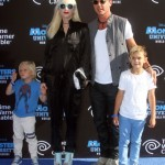 Gwen Stefani & Family Attend Monster University World Premiere
