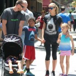Heidi Klum: Sunday Strollin' With Family