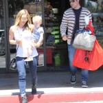 Hilary Duff: Family Shopping Day