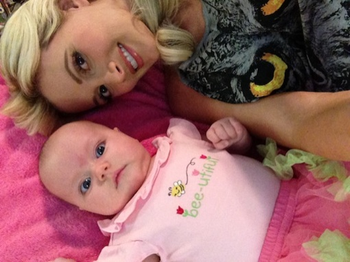 Holly Madison Shares Colorful Shots Of Rainbow