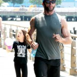 Hugh Jackman & Ava Enjoy a Father-Daughter Day