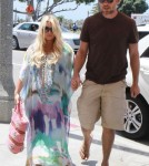 Jessica Simpson & Eric Johnson Out For Lunch In Los Angeles