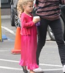 Exclusive... Joel Madden Takes His Kids Out On A Coffee Run