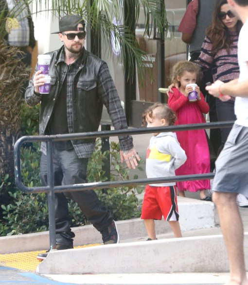 Benji Madden Plays Doting Uncle on Early Morning Coffee Run