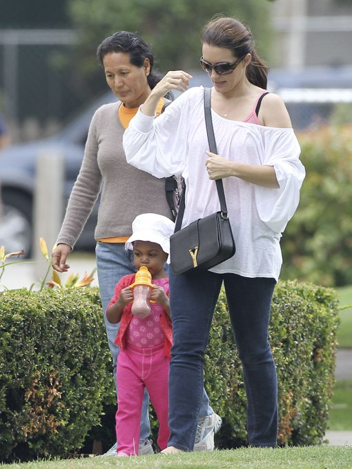 Exclusive Kristin Davis Takes Gemma Rose To The Park