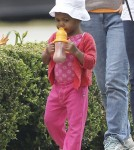 Exclusive... Kristin Davis Takes Gemma Rose to the Park