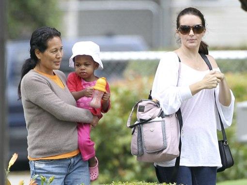 Exclusive Kristin Davis Takes Gemma Rose To The Park