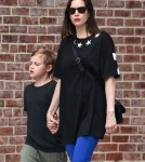 Liv Tyler Out And About With Her Son In NYC