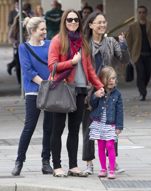 Exclusive... Mel C And Daughter Scarlet Spotted Out In Adelaide