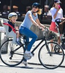 Naomi Watts Takes Samuel For A Ride In NYC