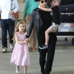 Nicole Richie: Chic Family Landing