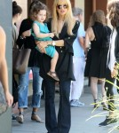 Pregnant Rachel Zoe Takes Sykler To Breakfast