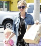 Rebecca Gayheart Picks Up Billie From School