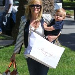 Reese Witherspoon Totes Her Little Man