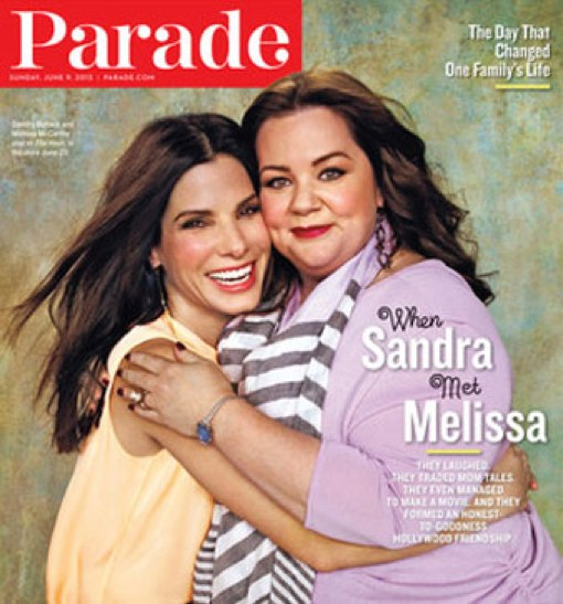 Melissa McCarthy & Sandra Bullock Open Up About Motherhood