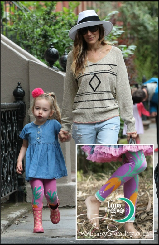 GIVEAWAY: Sarah Jessica Parker's Daughter Marion Loretta Wears Luna Leggings