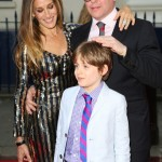 Sarah Jessica Parker & Matthew Broderick Take Their Son To The Charlie and the Chocolate Factory Premiere