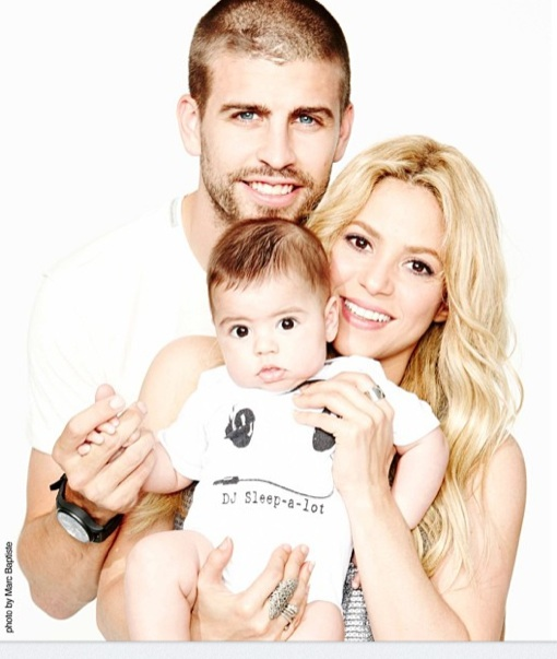 Shakira Shares Family Photo on Father's Day