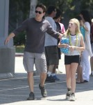 Exclusive... Anna Paquin & Stephen Moyer Spending Time With The Family