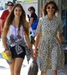 Exclusive... Teri Hatcher Out And About With Her Daughter
