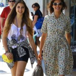 Teri Hatcher & Emerson: Smiling Mother-Daughter Fun Day
