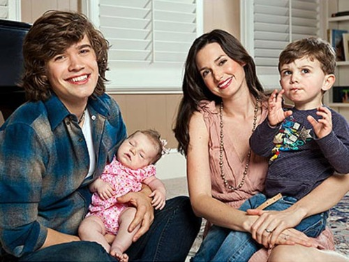 Zac Hanson  and Family