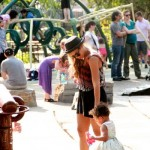Beyonce and Blue Ivy Have Some Mother Daughter Time At The Playground (PHOTOS)