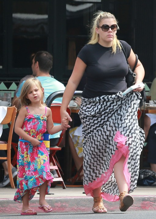 Busy Philipps Enjoys First Outing With Daughter Birdie