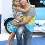 Larry Birkhead & Dannielynn Attend The SMURFS 2 Premiere