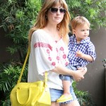 Selma Blair and Her Adorable Son Arthur Step Out