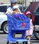 Exclusive... Isla Fisher Takes Her Daughters Toy Shopping