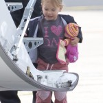 Pink's Daughter Willow Hart Arriving In Australia: Adorable Overload! (PHOTOS)