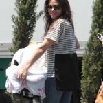 Jenna Dewan Takes Everly To Work