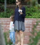 Exclusive... Is Jennifer Garner Hiding A Baby Bump?!