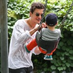 Orlando Bloom: Central Park Bonding With Flynn