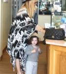 Rachel Zoe & Famly Shopping In Malibu
