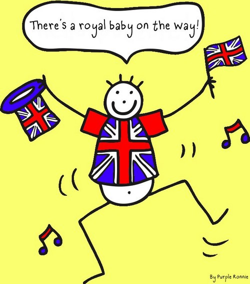 Everybody Loves a New Baby - Especially a Royal Heir!