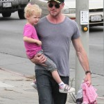 Eric Dane Does The School Run
