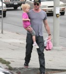 Exclusive... Eric Dane Picks Up Billie From School
