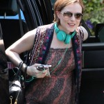 Pregnant Evan Rachel Wood Looks Boho Chic
