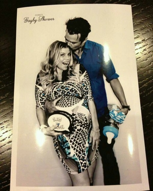 Fergie and Josh Duhamel Baby Shower Photo