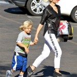 Gwen Stefani Styles While Making The School Run