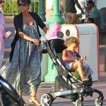 Halle Berry Takes Nahla to DisneyLand