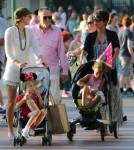 Pregnant Halle Berry Takes Nahla To Disneyland