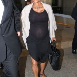 Halle Berry Touches Down At LAX After Marrying Olivier Martinez