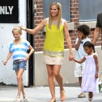 Heidi Klum Enjoys a Day With Her Kids