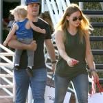 Hilary Duff: Family Shopping Day